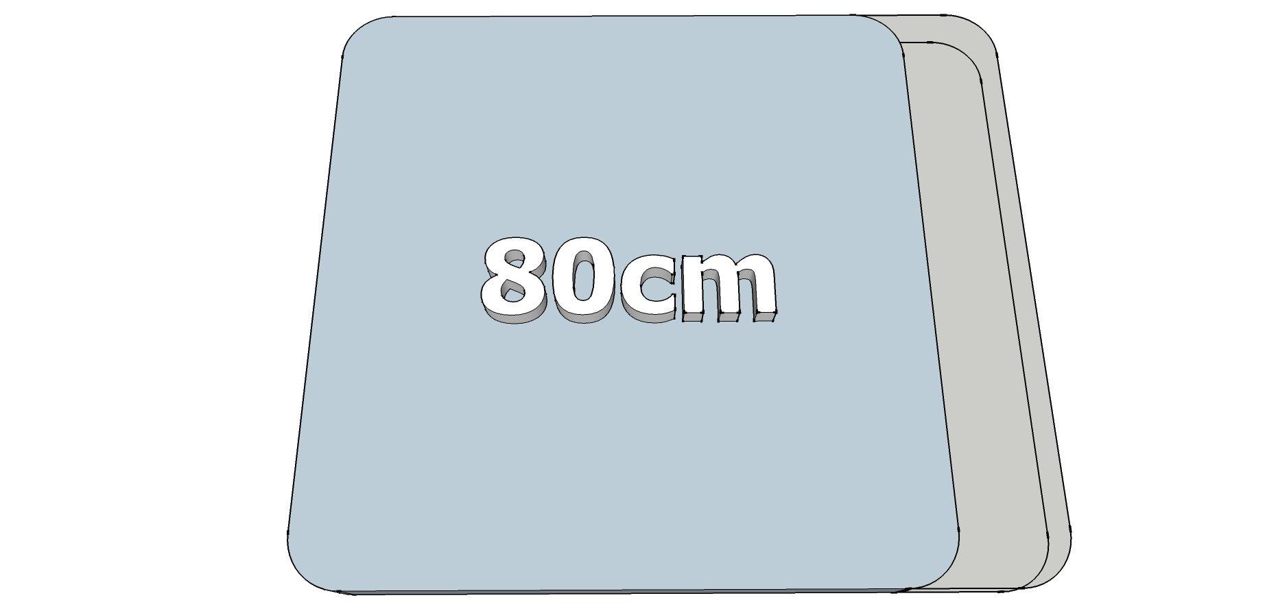 Afwijkende breedte Prac (80cm)